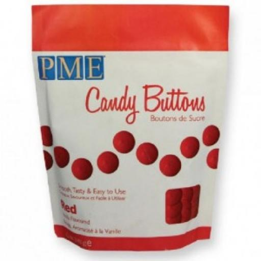 PME Red Candy Melt Buttons 340 g