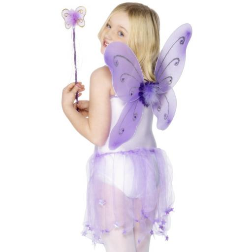 Butterfly Wings & Wand Purple