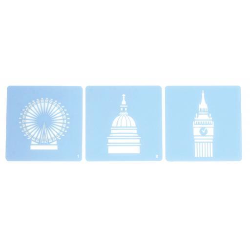 Culpitt London Icon Stencils