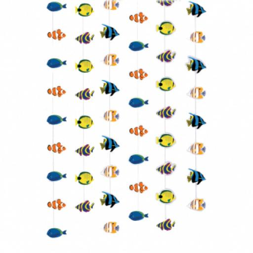 Coral Reef Fish 6 String Decoration 2.13m