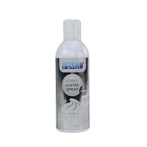 PME Edible Lustre Spray - Silver 400ml