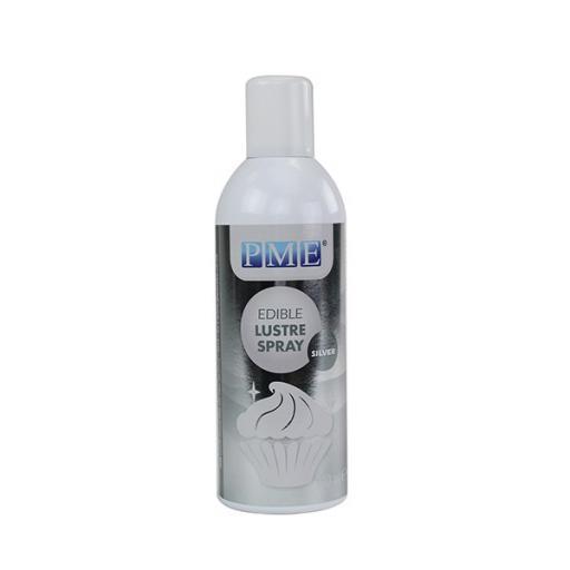 PME Edible Lustre Spray - Silver 400ml