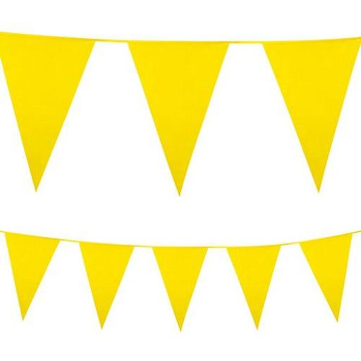 10m Polyethylene Giant Bunting - Yellow