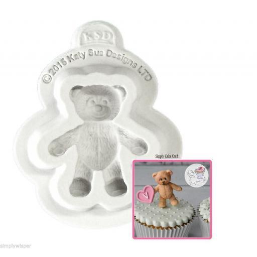 Katy Sue Baby Teddy Bear Design Mould