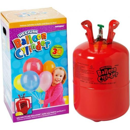 Disposable Helium Canister Fills 30 pcs of 9 Inch latex balloon