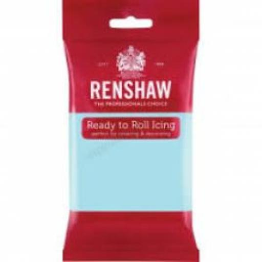Renshaw Duck Egg Blue Ready To Roll Sugar Paste 250g