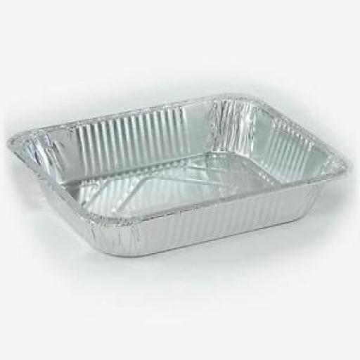 "17x12.5"" Oblong (2016)Foil Container"