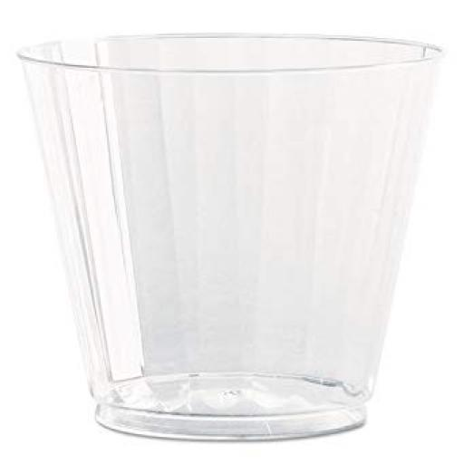 Dimond Cut Cristal Clear Sprit Tumblers 9oz 35Pk