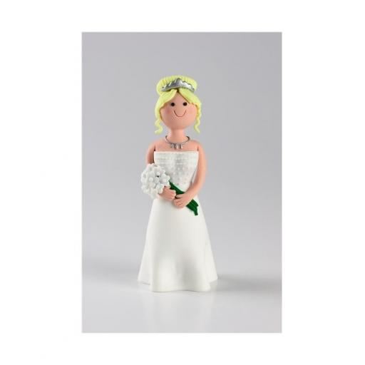 Claydough - Blonde Haired Bride - Acetate Box