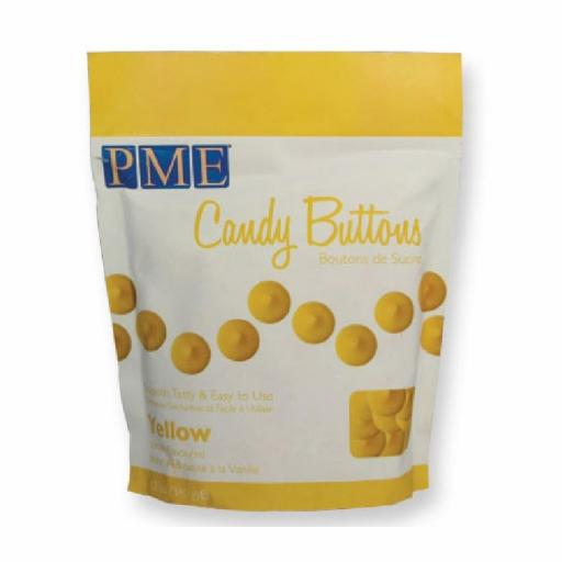 PME Yellow Candy Melt Buttons 340 g