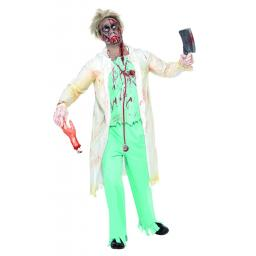 Zombie Doctor Costume -size L