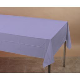 "Lavander Sparkle Paper Tablecovers 54""x108"""