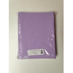 25 Lilac Table Covers 90cm x 90cm