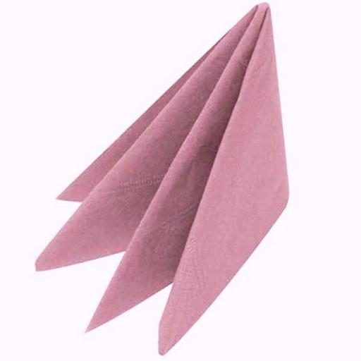 100 Light Pink Napkins 33cm / 2ply