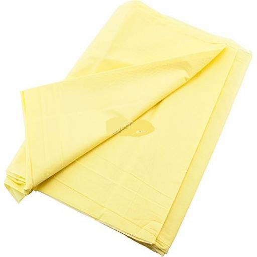 25 Sunflower Yellow Table Covers 90cm x 90cm