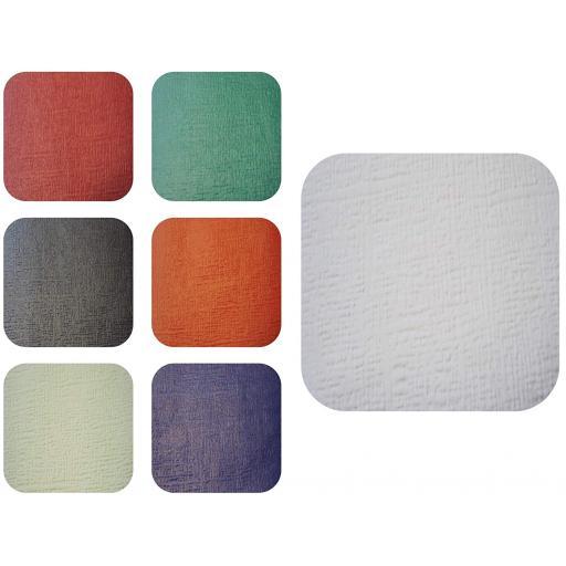 25 Orange Paper Table Covers 90x90cm