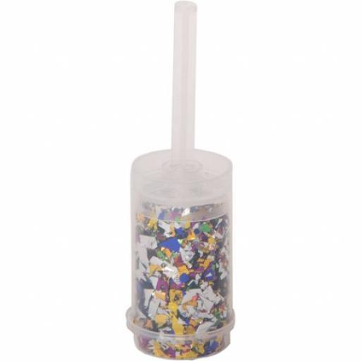 Multicolor Foil Confetti Popper