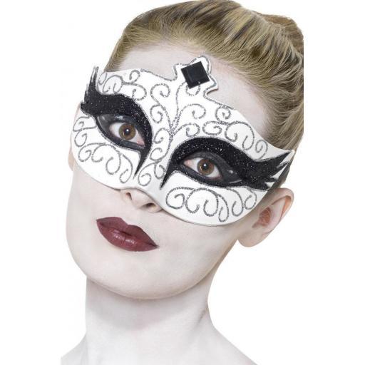 Smiffy Gothic Swan Eyemask