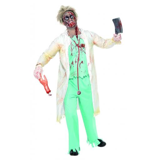 Zombie Doctor Costume -size M