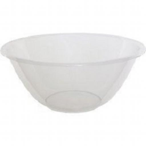 Clear Plastic Mixing Bowl