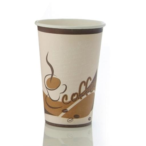 16 Hot Coffee Cups With Lids 16oz