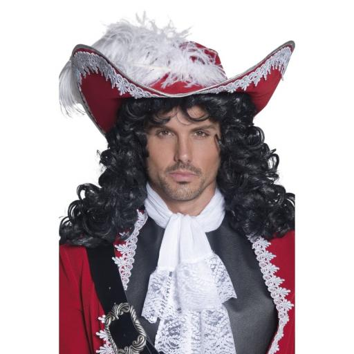 Authentic Red Pirate Hat