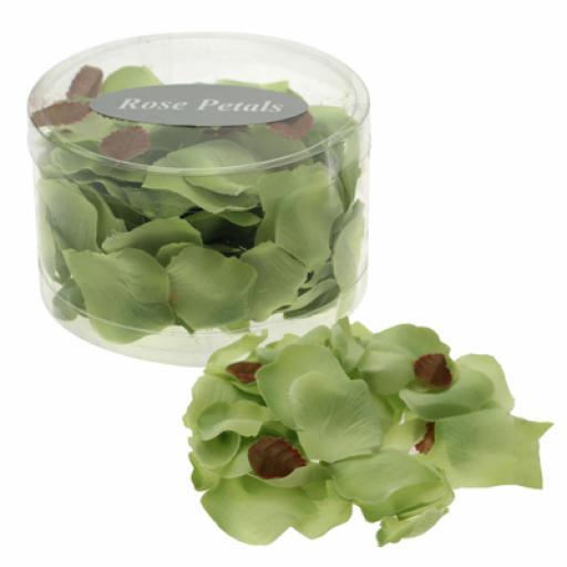 Lime Green Artificial Petal Confetti