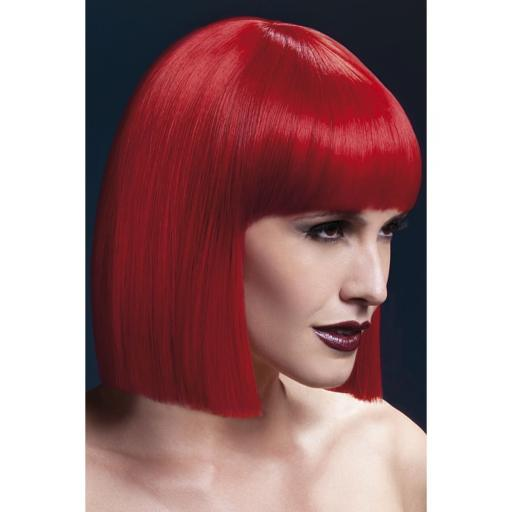 Red Fever Lola Wig