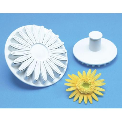 Sunflower/Daisy Plunger/Cutter Set 3/pkg