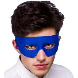 Adult Blue Mexican Bandit Superhero Eye Mask