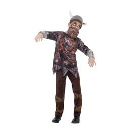 Deluxe Zombie Viking Costume Size S