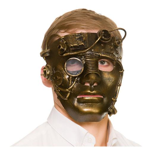 Adult Delux Robot Mask Steampunk