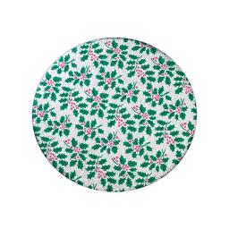 Round Christmas Cake Board - 6''