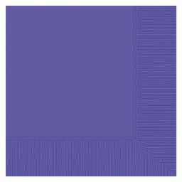 20 Purple Luncheon Napkin 33cm