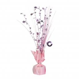 Pink Spray Centrepiece Balloon Weights 30cm/150g