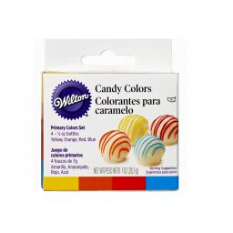 Wilton Primary Candy Colour -Set of 4