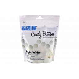 PME Bright White Candy Melt Buttons 340 g