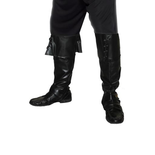 Deluxe Black Pirate Bootcovers