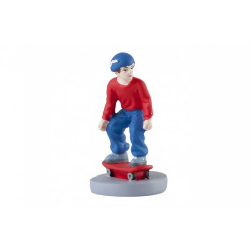 Skaterboarder Figurine Cake Toper