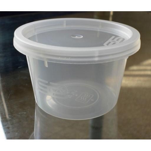 25 Satco Round Container & Lid - 4oz (110cc)
