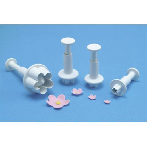 PME Flower Blossom Plunger Cutter 4/set
