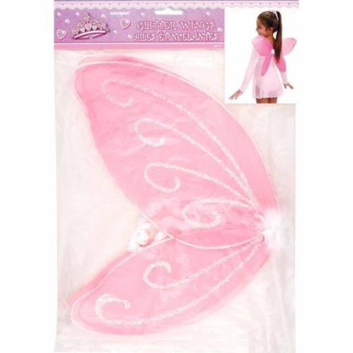 Princess Glitter Fairy Wings