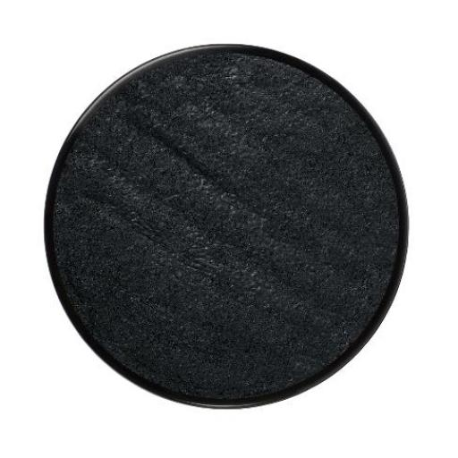 Metallic Face Paint Electric Black 18 ml