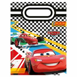 6 Disney Cars Party Bags 9in x 6.5in