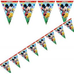 Disney Mickey Mouse Playful Party Flag Banner 2.3m