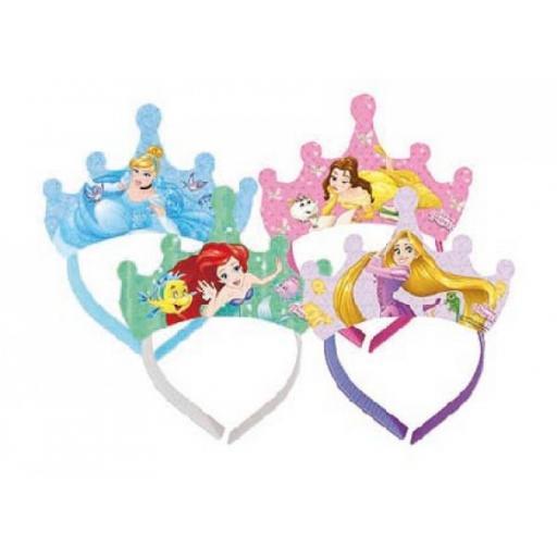 4 Disney Princess Tiaras