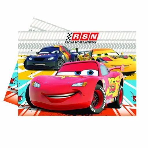 Cars Plastic Table Cover 1.2 x 1.8m