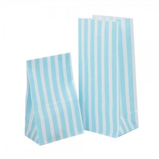 Blue Stripe Pick N Mix Bags 30pk