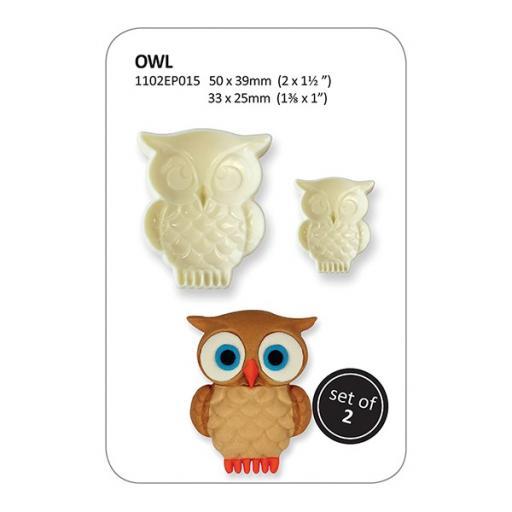 JEM Pop It Mould Owl Set of 2