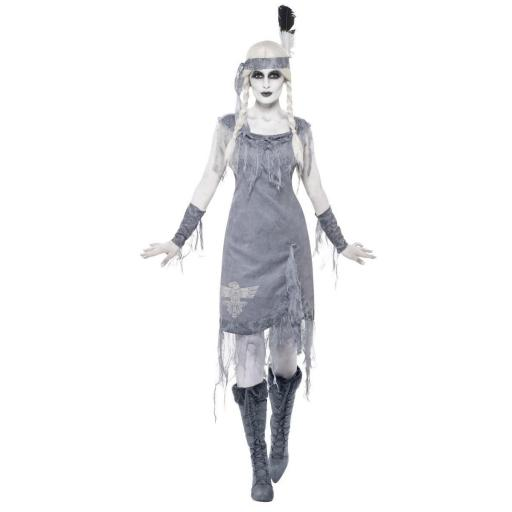 GHOST TOWN NATIVE AMERICAN PRINCESS COSTUME-MEDIUM